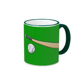 Baseball Bat n Ball Mugs