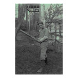 Baseball Bat Photography Vintage Father's Day Print