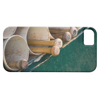 Baseball bats in the dugout barely there iPhone 5 case