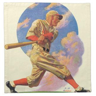 Baseball Batter Cloth Napkins