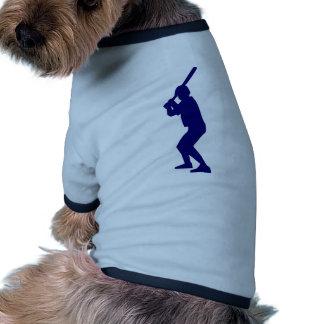 Baseball Batter Doggie Tshirt