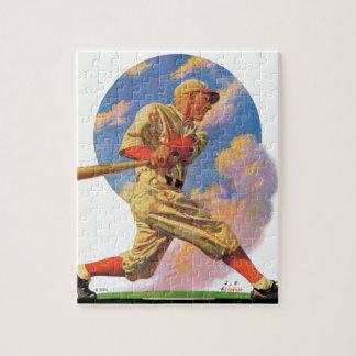 Baseball Batter Jigsaw Puzzle