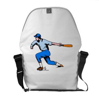 Baseball Batter Messenger Bags