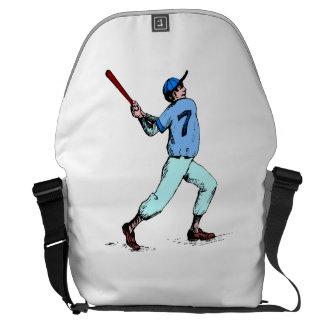 Baseball Batter Courier Bags