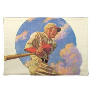 Baseball Batter Placemat