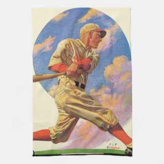 Baseball Batter Tea Towel