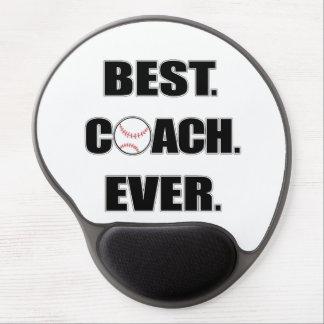 Baseball Best Coach Ever Gel Mouse Mat