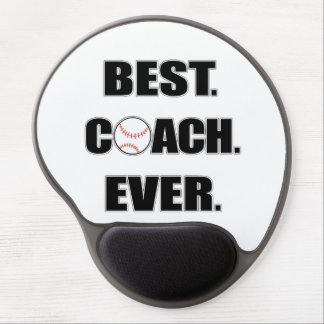 Baseball Best Coach Ever Gel Mouse Pad