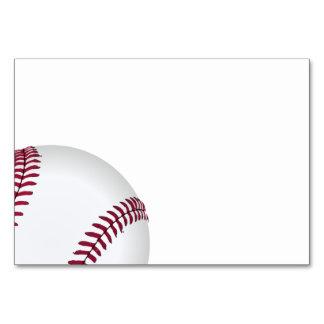 Baseball Birthday Party Supplies Card