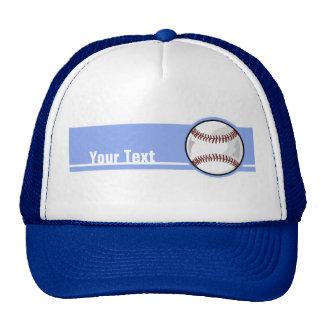 Baseball; Blue Cap