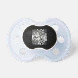 BASEBALL BooginHead® Custom Pacifier (0-6 Months)