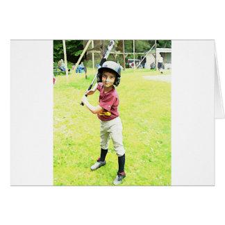 Baseball Boy Greeting Card