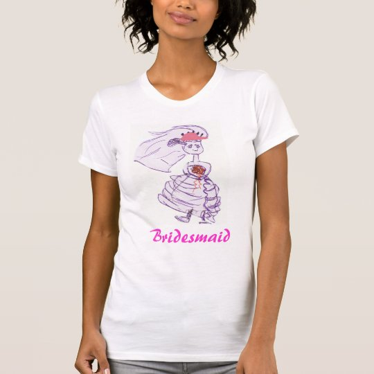 Baseball Bridesmaid T-Shirt