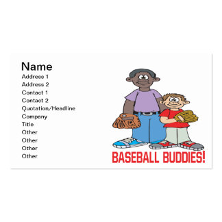 Baseball Buddies Business Card Templates