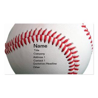 Baseball Business Card Template