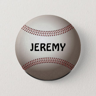 Baseball Button/Pin Template 6 Cm Round Badge