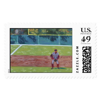 Baseball-by-the-Sea Postage Stamp