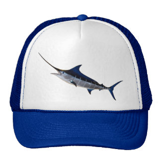 Baseball cap for angler motive sword fish