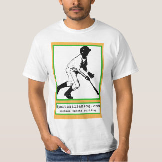 Baseball Card Hitter (White) T-Shirt
