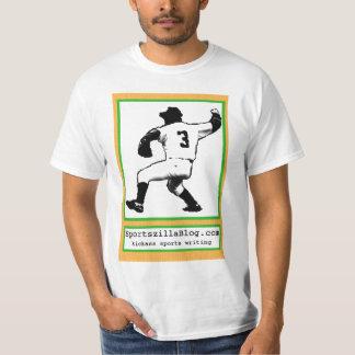 Baseball Card Pitcher (White) T-Shirt