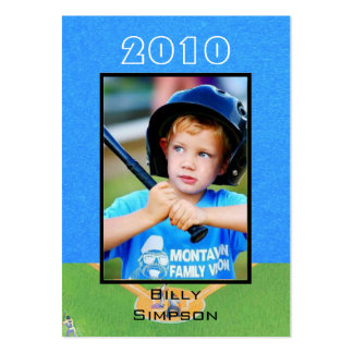 Baseball Cards Pack Of Chubby Business Cards