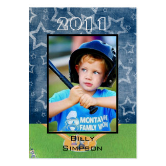 Baseball Cards Large Business Cards (Pack Of 100)