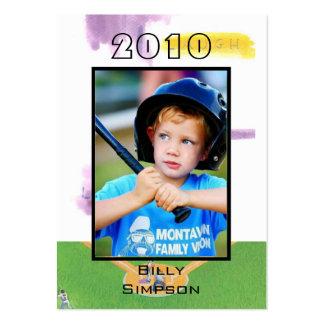 Baseball Cards Business Card Template