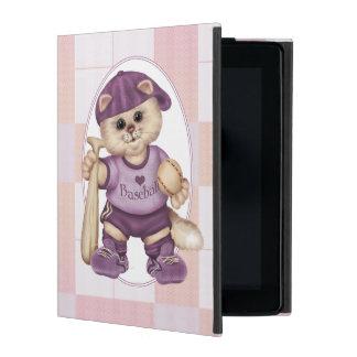 BASEBALL CAT  CUTE iPad 2/3/4 iPad Case