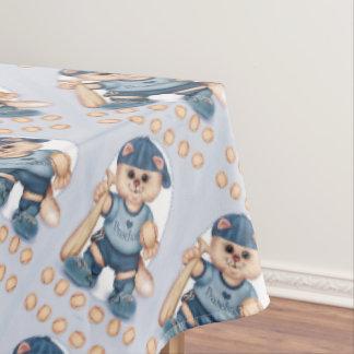 """BASEBALL CAT Tablecloth COLOR LIPS 60""""x104"""""""
