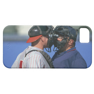 Baseball Catcher and Umpire Arguing Barely There iPhone 5 Case