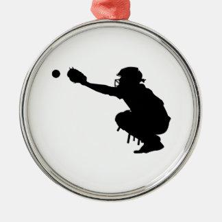 Baseball Catcher Christmas Ornament
