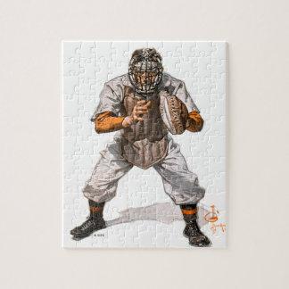 Baseball Catcher Jigsaw Puzzle
