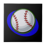 baseball ceramic tiles
