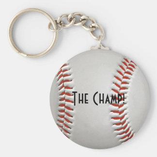 Baseball Champ Keychain