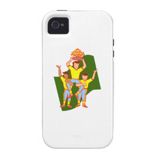 Baseball Championship Case-Mate iPhone 4 Cover