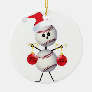 Baseball Christmas Christmas Ornament