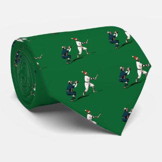 baseball christmas gift tie