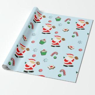 Baseball Christmas gift Wrapping Paper