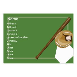 Baseball - Chubby Business Card Template
