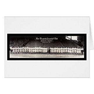 Baseball Club Ohio Photo 1922 Card
