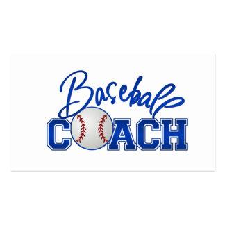 Baseball Coach Business Cards