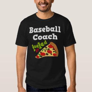 Baseball Coach (Funny) Pizza Gift Tee Shirt