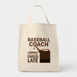 Baseball Coach Gift (Funny) Canvas Bags