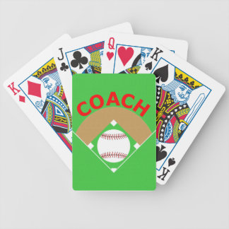 Baseball Coach Gift Playing Cards Deck
