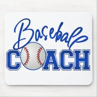Baseball Coach Mouse Pad
