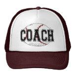 Baseball Coach T-shirts and Gifts. Hats