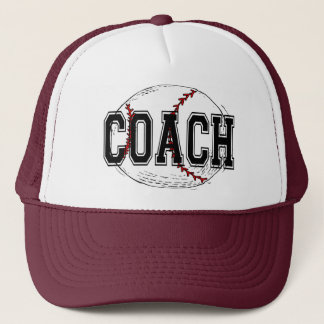 Baseball Coach T-shirts and Gifts. Trucker Hat