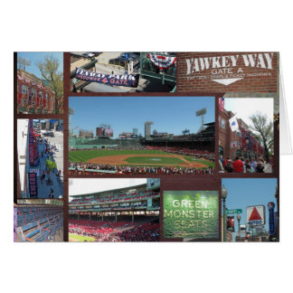 Baseball Collage Greeting Card