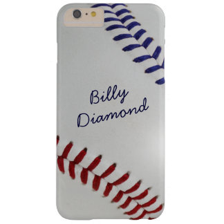 Baseball_Color Laces_Stitching_nb_dr_personalized Barely There iPhone 6 Plus Case