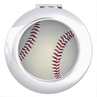 Baseball Compact Mirror